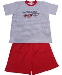 Sport Speed Race pyžamo kluk 7-8 let červená