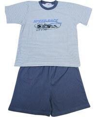 Sport Speed Race pyžamo kluk 7-8 let šedá