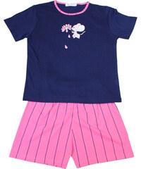 Polska Aneta - dívčí pyžamo 9-10 let tmavě modrá
