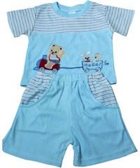 Sport Netty pyžamko světle modrá 3-6 měs