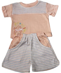 Sport Pixie pyžamko 3-6 měs oranžová