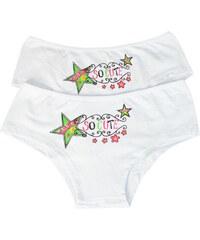 Polska So Cute kalhotky dívčí 2bal 11-12 let bílá