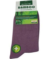 Aura.Via Bamboo dámské ponožky 35-38 fialová