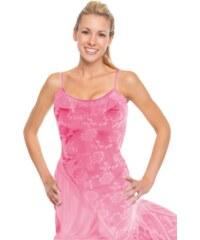 Solla Mallorca košilka s tangy S tmavě růžová