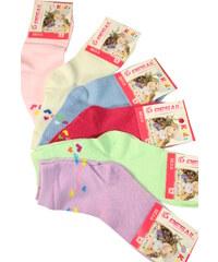 Pesail Kids Love ponožky - trojbal 3-4 roky MIX