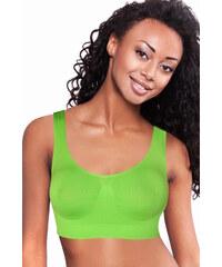 Greenice (G&N) Enna sportovní bezešvá podprsenka L zelená