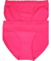 Greenice (G&N) Tessa Reflex bezešvé kalhotky - 2bal L zářivě růžová