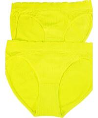 Greenice (G&N) Tessa Reflex bezešvé kalhotky - 2bal L zářivě žlutá