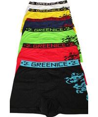 Greenice (G&N) Nelson pánské boxerky - trojbal XL MIX