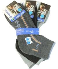 Pesail Pánské thermo ponožky - trojbal 40-44 MIX