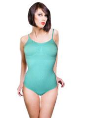Greenice (G&N) Angie bezešvé stahující body L modrá