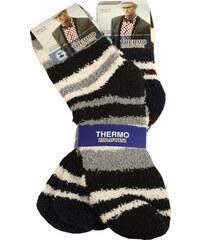 Pesail Pánské chlupaté ponožky 2 páry 40-43 MIX