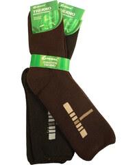 Pesail Zimní zdravotní ponožky 2 páry 40-43 MIX