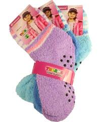 Pesail Dívčí thermo ponožky 3 páry 27-30 MIX