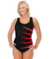 Verana Speedy jednodílné plavky s výztuží XXL černá