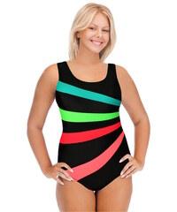 Sport Speedy jednodílné plavky s výztuží L černá