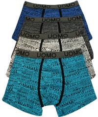 Uomo Kongo Man bavlněné boxerky - 2ks L MIX