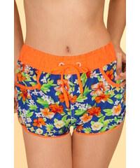Sport Aphra šortkové plavky S oranžová zářivá