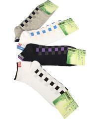 Pesail Nízké sportovní ponožky - 3 páry 43-47 MIX