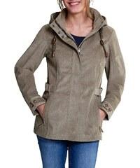 Große Größen: Eddie Bauer Softshell-Jacke in Cord-Optik, Sand, Gr.36-48