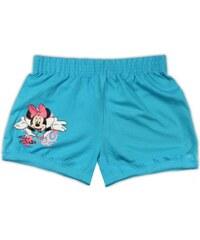 E plus M Dívčí šortky Minnie - modré