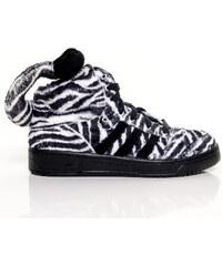 Adidas Originals Boty Jeremy Scott Zebra Black White