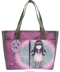 Santoro London - Nákupní taška s kapsami - Gorjuss - Oops a Daisy