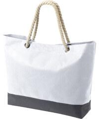 Prostorná taška s dekorativním uchem - Bílá univerzal