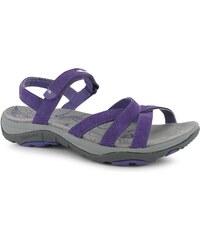 Trekové sandály Karrimor Salina Leather dám. fialová