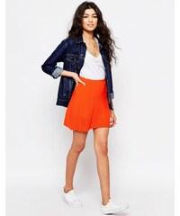 Never Fully Dressed - Mini-jupe matelassée - Orange