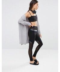 Quontum - Legging en tulle - Noir - Noir