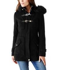 Guess Dámský kabát KORELLA COAT - barva černá