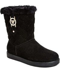 Guess Dámské boty ALDA BOOTS - barva černá vícebarevné fabric