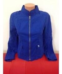 Abercrombie & Fitch Dámská jarní bunda - Královská modrá