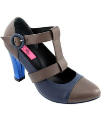 Pring Paris Erika - Chaussures à talon en cuir - taupe