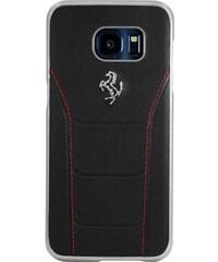 The Kase Galaxy S7 Edge - Coque en cuir - noir
