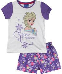 E plus M Dívčí pyžamo Frozen - fialovo-bílé