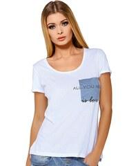 Dámské tričko Jadea 4545v1 s modalem bílá M/L