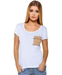 Dámské tričko Jadea 4545v2 s modalem bílá S/M
