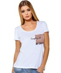 Dámské tričko Jadea 4545v3 s modalem bílá S/M