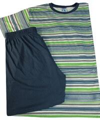 Sport Cliff bavlněné pyžamo pro pány M zelená