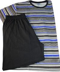 Sport Cliff bavlněné pyžamo pro pány XXL tmavě modrá