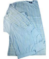 Sport Beny bavlněné pyžamo pro pány XL světle modrá