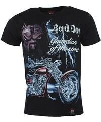BLACK HEAVEN tričko pánské oboustranný potisk BAD DOG