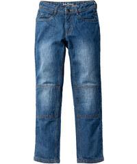 John Baner JEANSWEAR Jean robuste Slim Fit avec genoux renforcés, T. 116-170 bleu enfant - bonprix