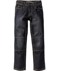 John Baner JEANSWEAR Jean robuste Slim Fit avec genoux renforcés, T. 116-170 noir enfant - bonprix