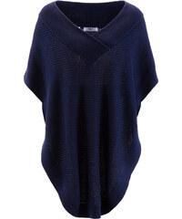bpc bonprix collection Poncho bleu femme - bonprix