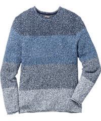 bpc bonprix collection Pull Regular Fit bleu manches longues homme - bonprix