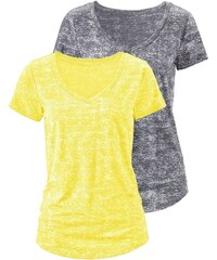 BEACH TIME V Shirt 2 Stück