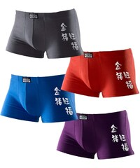 LE JOGGER Boxer Authentic Underwear 4 Stck.